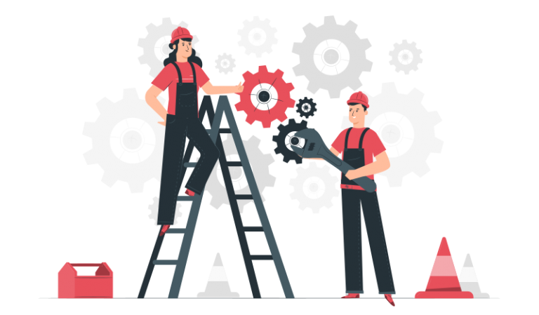 Maintenance Infographics